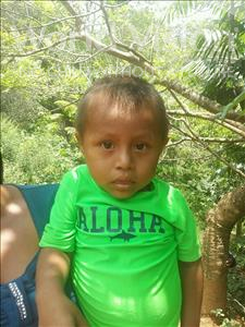 Andony Benjamin, aged 4, from Honduras, is hoping for a World Vision sponsor