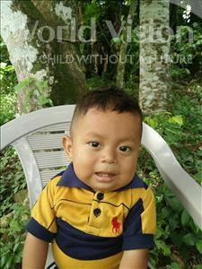 Yostin Humberto, aged 2, from Honduras, is hoping for a World Vision sponsor