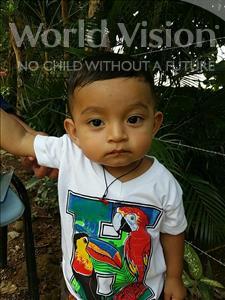 Choose a child to sponsor, like this little boy from Maya, Enrri Josue age 1