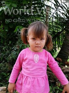 Choose a child to sponsor, like this little girl from Maya, Cristel Abigail age 2