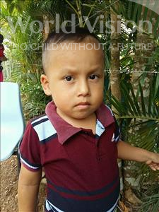 Erick Danilo, aged 3, from Honduras, is hoping for a World Vision sponsor