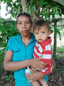 Choose a child to sponsor, like this little boy from Maya, Cristian Ivan age 1