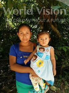 Choose a child to sponsor, like this little girl from Maya, Dilcia Yamileth age 1
