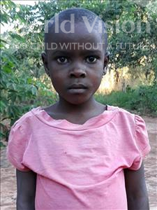 Cecilia Abel, aged 7, from Mozambique, is hoping for a World Vision sponsor