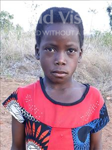 Choose a child to sponsor, like this little girl from Kazuzo, Leonora Antonio age 9