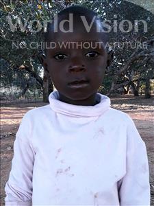 Choose a child to sponsor, like this little boy from Kazuzo, Florencio Raimundo age 6