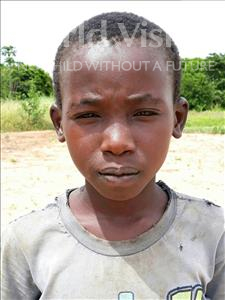 Choose a child to sponsor, like this little boy from Kazuzo, Ajafi age 12