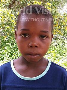 Choose a child to sponsor, like this little boy from Namaita, Jovencio Magaia age 11