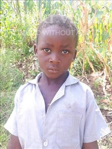 Bonface, aged 6, from Malawi, is hoping for a World Vision sponsor