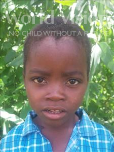 Choose a child to sponsor, like this little boy from Thundu, Clement age 6