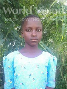 Choose a child to sponsor, like this little girl from Thundu, Shakira age 8
