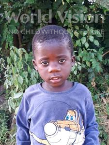 Choose a child to sponsor, like this little boy from Thundu, Evance age 2