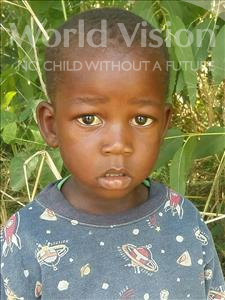 Choose a child to sponsor, like this little boy from Thundu, Boniface age 3