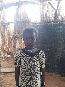 Choose a child to sponsor, like this little girl from Komabangou, Hawa age 8