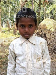 Choose a child to sponsor, like this little boy from Sarlahi, Arjun age 7
