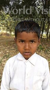 Rahim, aged 4, from Nepal, is hoping for a World Vision sponsor