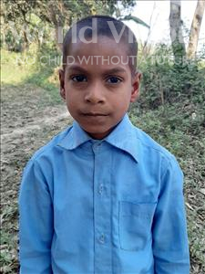 Choose a child to sponsor, like this little boy from Sarlahi, Anil Kumar age 7
