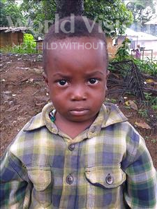 Choose a child to sponsor, like this little boy from Jong, Amara age 3