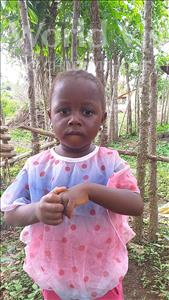 Choose a child to sponsor, like this little girl from Imperi, Elizabeth Fatmata age 3