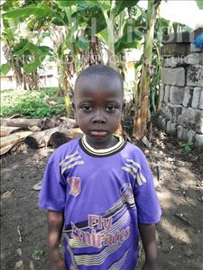 Abdulai, aged 6, from Sierra Leone, is hoping for a World Vision sponsor