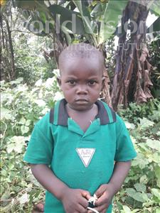 David, aged 3, from Sierra Leone, is hoping for a World Vision sponsor