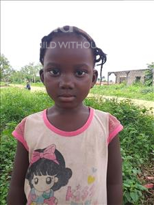 Iye, aged 1, from Sierra Leone, is hoping for a World Vision sponsor