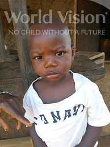 Choose a child to sponsor, like this little boy from Tegloma, Gassimu age 1