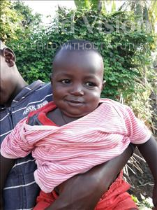 Alie, aged 1, from Sierra Leone, is hoping for a World Vision sponsor