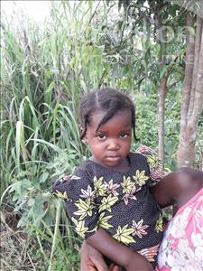 Choose a child to sponsor, like this little girl from Tegloma, Tenneh age 2