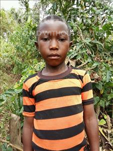 Choose a child to sponsor, like this little boy from Kibiga-Mulagi, Musanyusa age 9