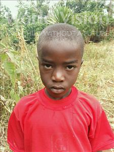 Joseph Edrin, aged 8, from Uganda, is hoping for a World Vision sponsor