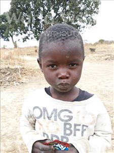 Lawrence, aged 3, from Zambia, is hoping for a World Vision sponsor