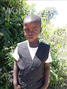 Choose a child to sponsor, like this little boy from Keembe, Given Jr age 5