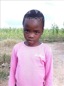 Choose a child to sponsor, like this little girl from Keembe, Malwa age 7