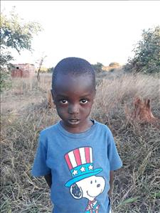 Mwaliteta, aged 3, from Zambia, is hoping for a World Vision sponsor