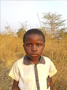 Choose a child to sponsor, like this little boy from Keembe, Kacious age 8