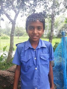 Choose a child to sponsor, like this little boy from Ghoraghat, Sadekul age 9