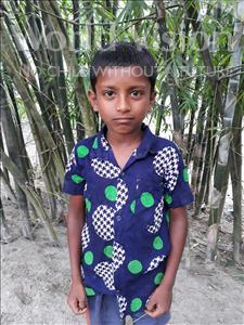 Choose a child to sponsor, like this little boy from Ghoraghat, Sohan age 8