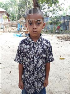 Choose a child to sponsor, like this little boy from Ghoraghat, Sihab age 7