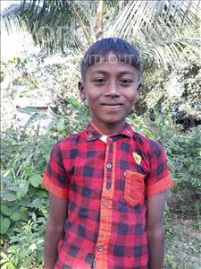 Choose a child to sponsor, like this little boy from Ghoraghat, Monir age 7