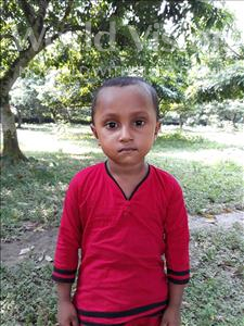 Choose a child to sponsor, like this little girl from Ghoraghat, Jannati age 4