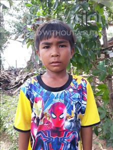 Choose a child to sponsor, like this little boy from Soutr Nikom, Munleap age 9