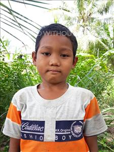 Phanney, aged 8, from Cambodia, is hoping for a World Vision sponsor