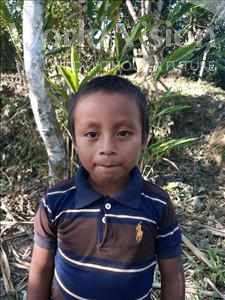 Roni Adonay, aged 8, from Honduras, is hoping for a World Vision sponsor