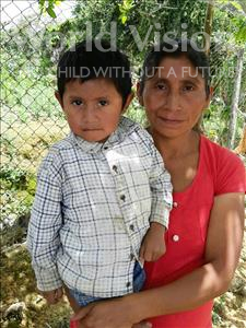 Santos Moises, aged 5, from Honduras, is hoping for a World Vision sponsor