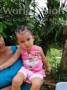 Choose a child to sponsor, like this little girl from Maya, Maria Adela age 1
