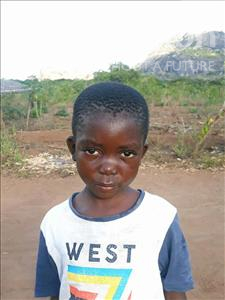 Choose a child to sponsor, like this little boy from Kazuzo, Nelson Gito age 7