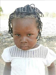 Choose a child to sponsor, like this little girl from Kazuzo, Sifa Vicente age 3