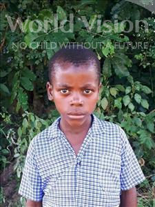 Keston, aged 8, from Malawi, is hoping for a World Vision sponsor