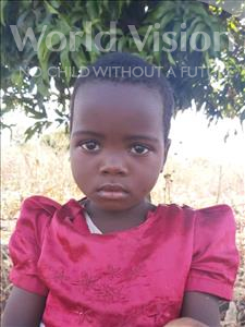 Choose a child to sponsor, like this little girl from Thundu, Debora age 3